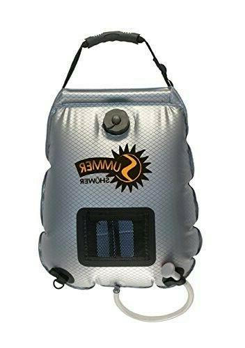 5 gallon summer shower solar shower