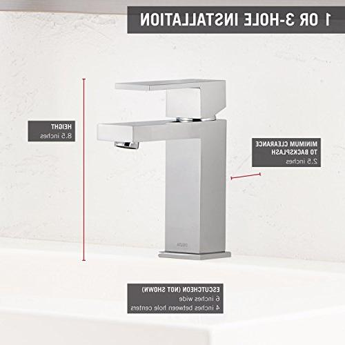 Delta Single-Handle Bathroom Faucet with Assembly,
