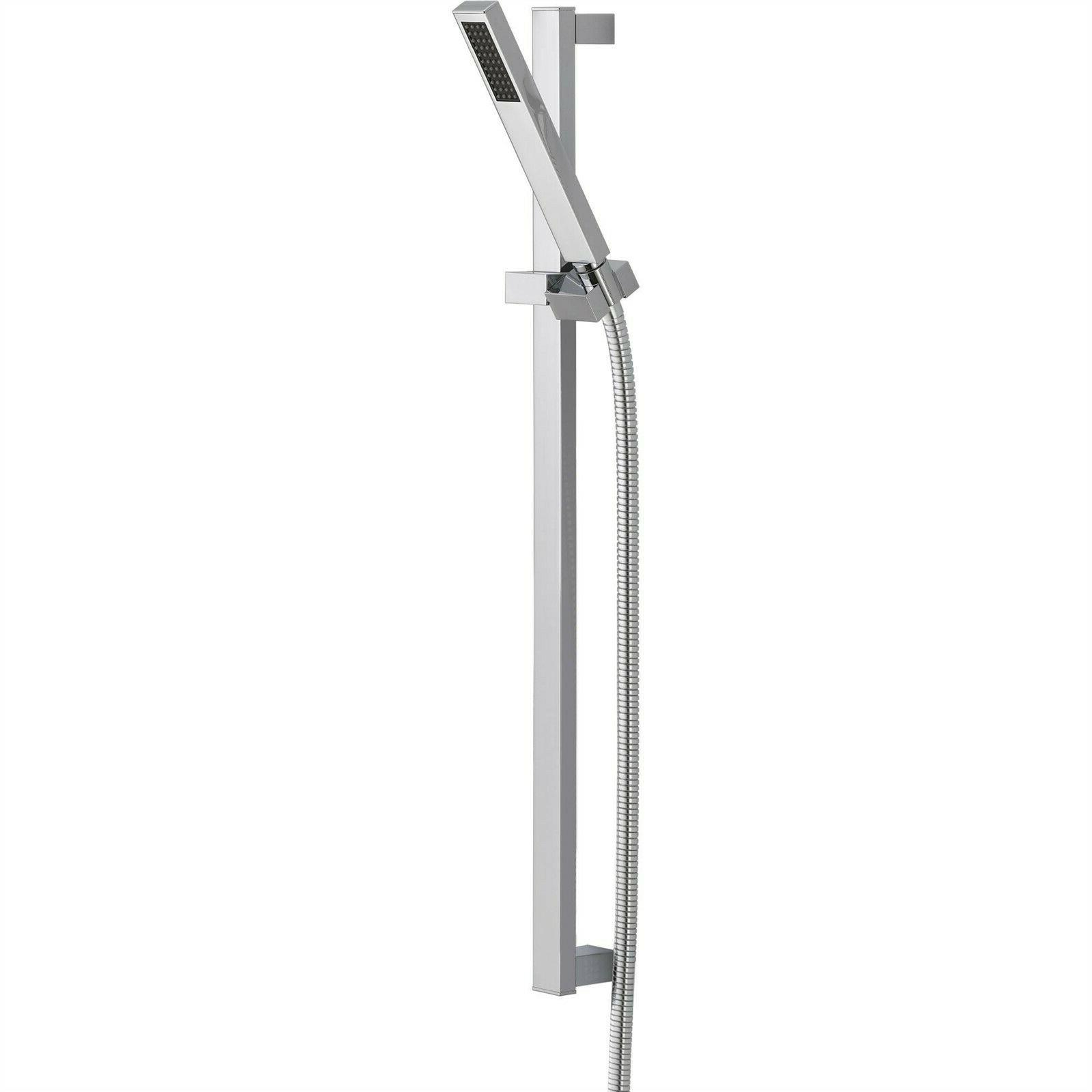 Delta 57530 Wall Mount Slide Bar w/Hand Shower with Single S