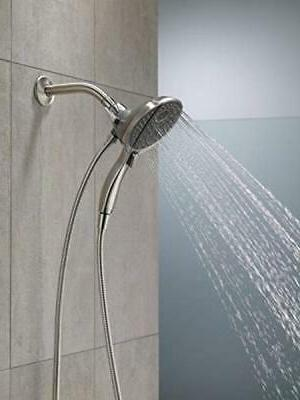 Delta 58467-SS In2ition 4-Setting Two-in-One Handshower Show