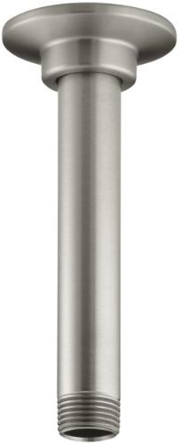 6 Ceiling Mount Shower Arm - Finish: Vibrant Brushed Nickel