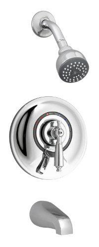 Symmons S-7602Rp Allura Tub/Shower System, Chrome
