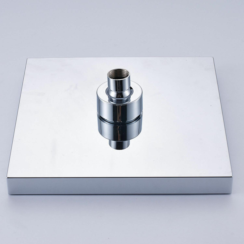 "8"" Rainfall Shower Tub Mixer Tap W/Handheld Wall"