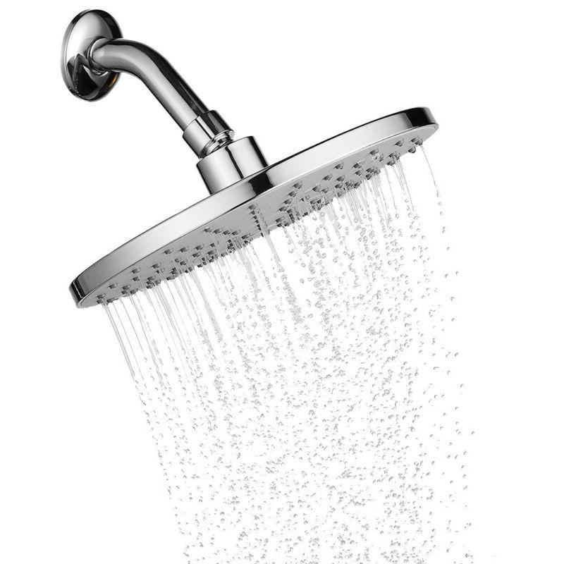 9 rainfall shower head large luxury fixed