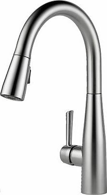 Delta Faucet 9113-AR-DST Essa Single Handle Pull-Down Kitche