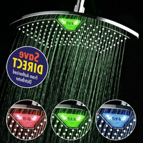DreamSpa 1489 AquaFan 12 inch All-Chrome Rainfall Shower-Hea