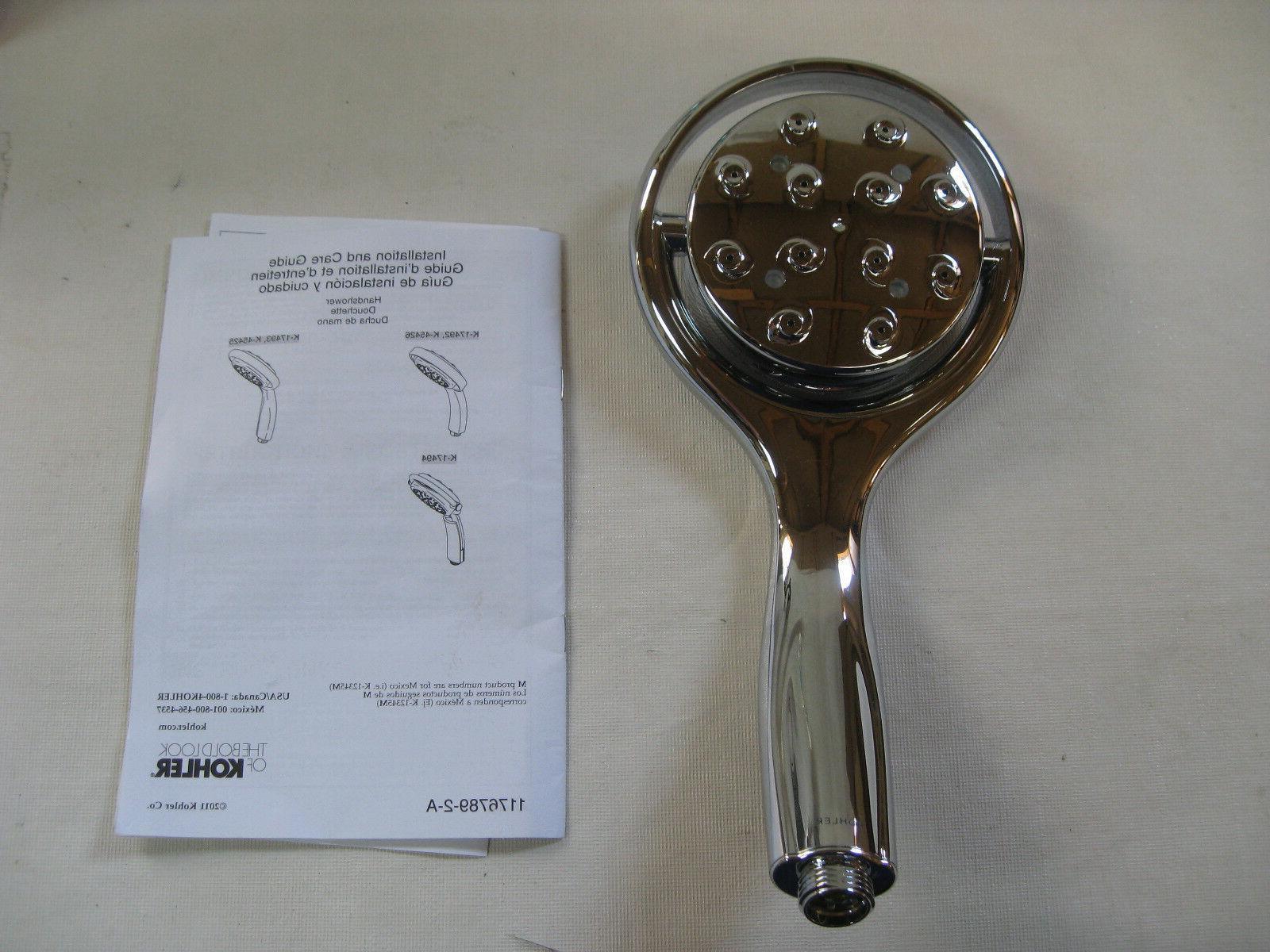KOHLER K-17493-CP Flipside 01 Handshower, Polished Chrome