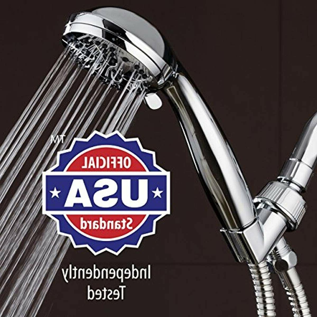 "AquaDance High 3.5"" Shower with Hose for"
