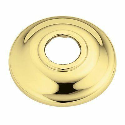 at2199p shower arm flange polished brass