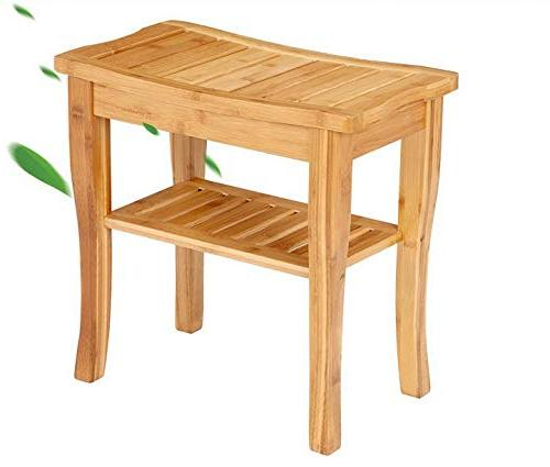 bamboo shower bench seat
