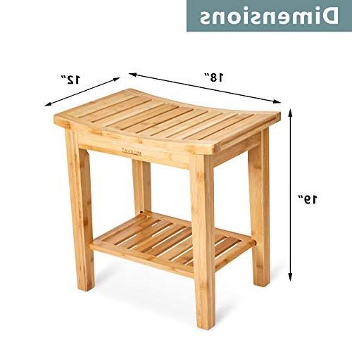 Morvat and Shower Mat, Shower Bathroom Furniture, Shower Bathroom Wood Bench, from Durable,