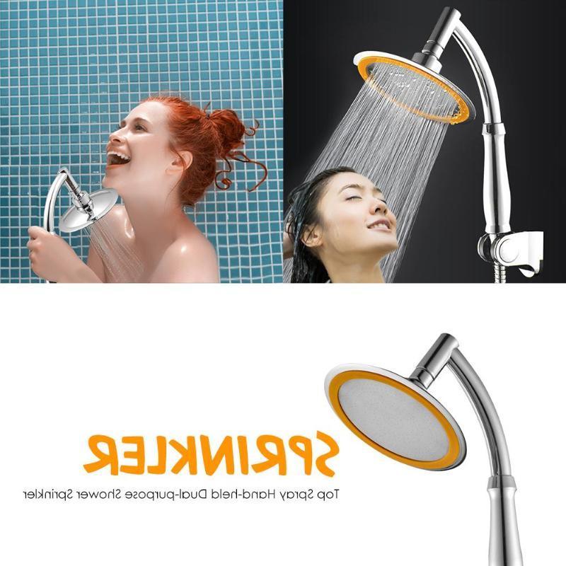 4//6in ABS Hand Held Adjustable 2 Mode Bathroom Jetting Handheld Shower Head