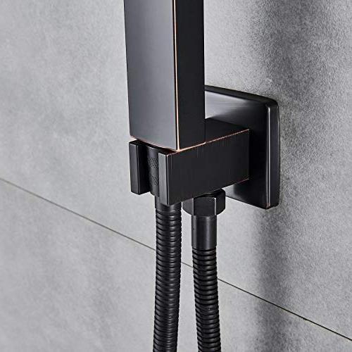 Rozin 2-way Mixer Set 8-inch Showerhead Oil Rubbed