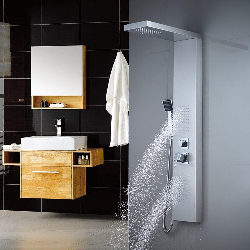 ROVATE Bathroom 304 <font><b>Shower</b></font> <font><b>Shower</b></font> Faucets