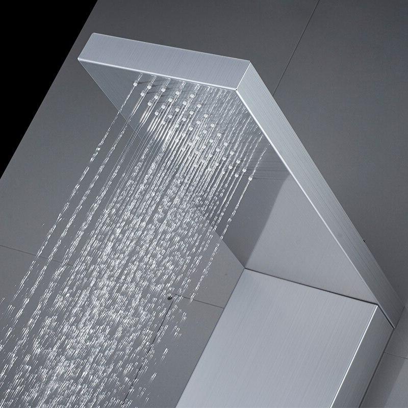 ROVATE <font><b>Shower</b></font> 304 Steel <font><b>Shower</b></font> Hand <font><b>Shower</b></font> Wall Mount Faucets