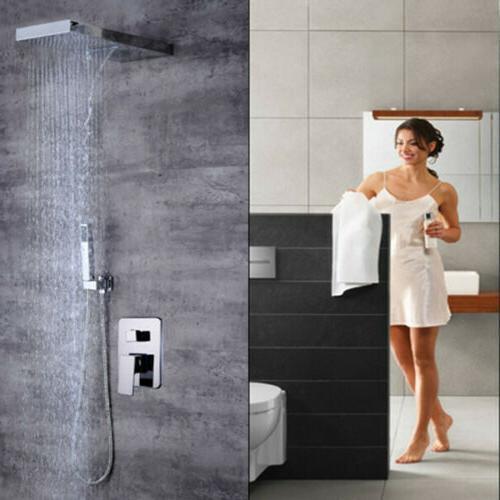 Bathroom Faucet Rainfall Head System