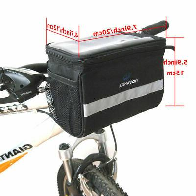 Cycling Bicycle Bike Handlebar Bag Pannier Rack Basket