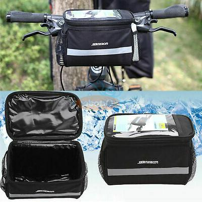 Cycling Bags Bicycle Handlebar Bag Pannier Rack Basket