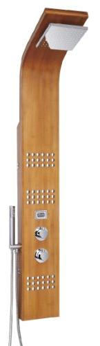 """Blue Ocean 61"""" SPW8311 Thermostatic Shower Panel with Rain"""