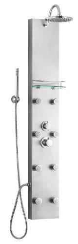 """Blue Ocean 57"""" Stainless Steel SPS8801 Thermostatic Shower"""