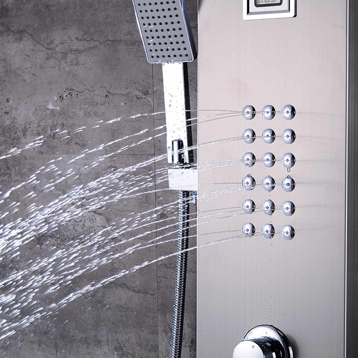 Brushed Jet <font><b>Shower</b></font> Bathroom Rainfall <font><b>Shower</b></font> Mixer