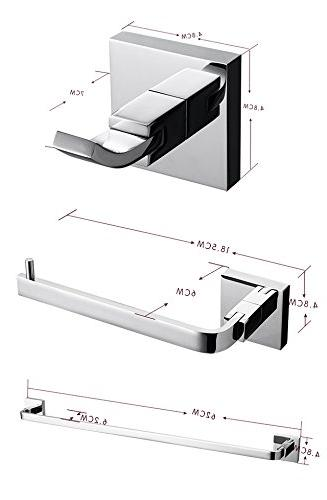 LightInTheBox Contemporary Solid Brass Bathroom Wall Towel Hook/Toilet Holders/Towel Shower Furniture