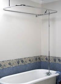 """Barclay Converto Shower with 48"""" Rectangular Rod"""