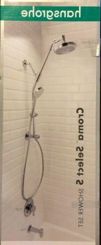 Hansgrohe Croma Select S Showerhead Set 3-Zone Vario-Jet Chr