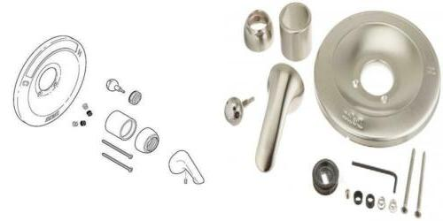 delta rp54870ss renovation kit 600 series tub