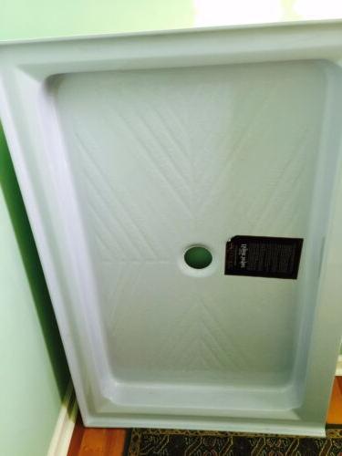 delux bathroom shower base