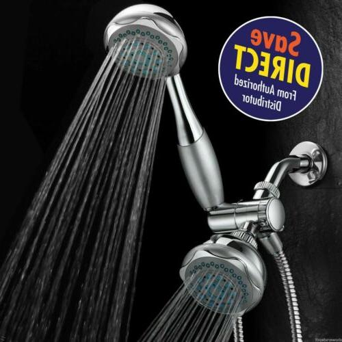 deluxe 24 setting shower head