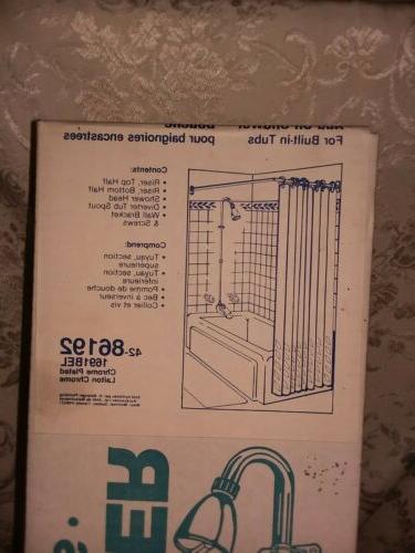 DIY Belanger Add-On-Shower Diverter Spout with and Shower Head
