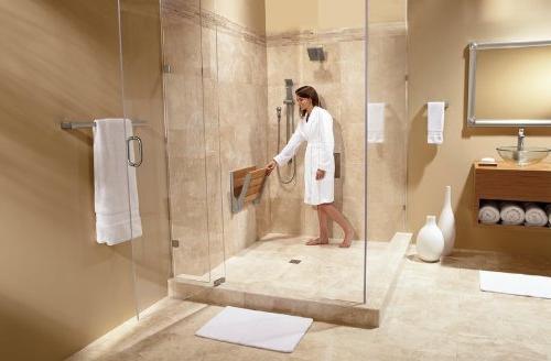 Moen Teak Wood Shower