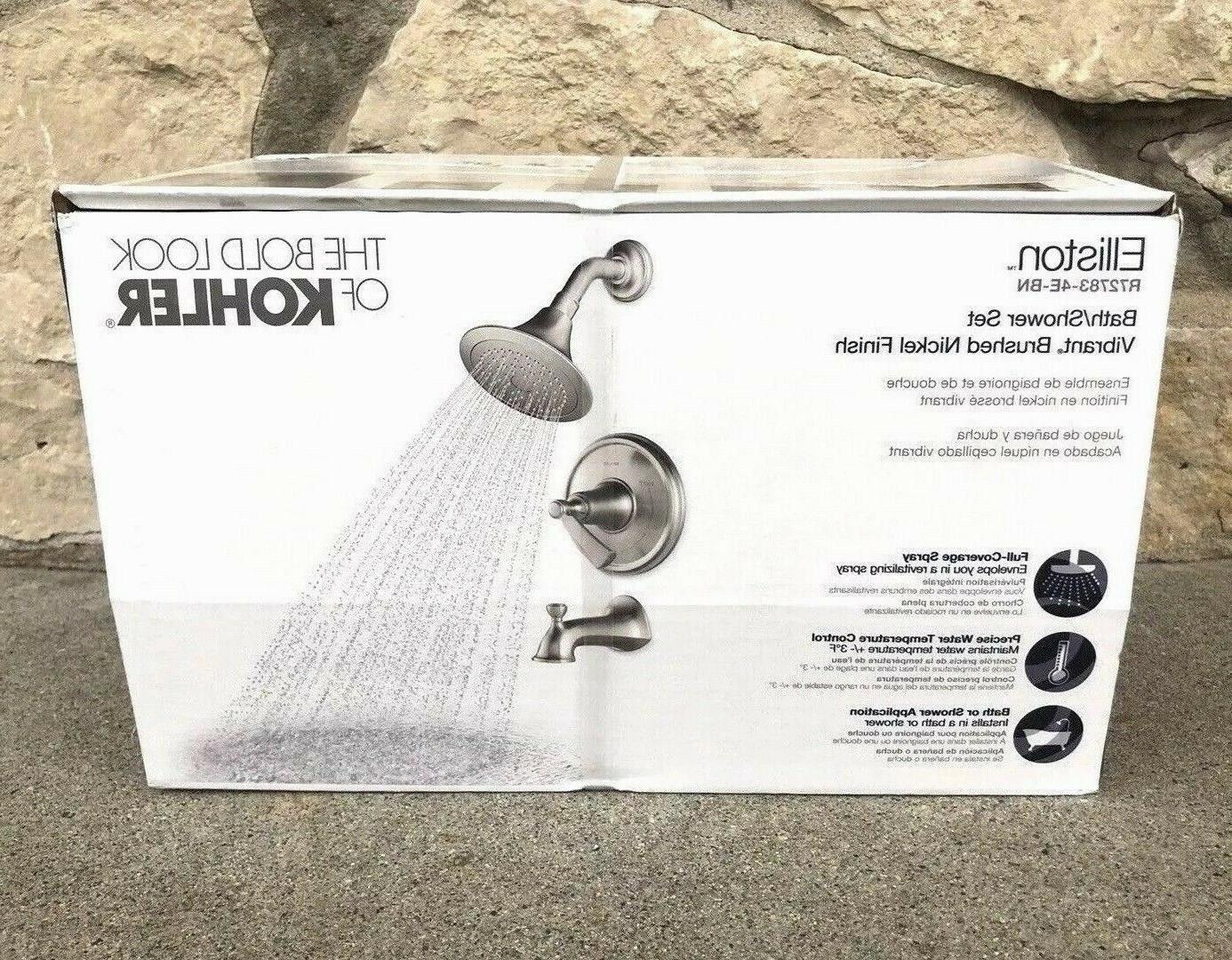 elliston r72783 4e bn vibrant brushed nickel