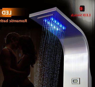 ELLO&ALLO LED Tower Mist Rain Jet
