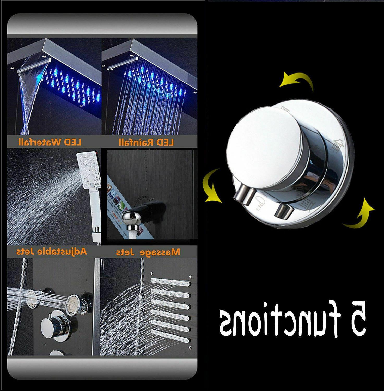 ELLO&ALLO Tower System Rain Massage