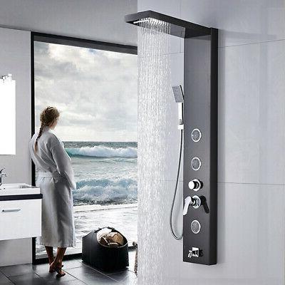 ello and allo rain and waterfall shower