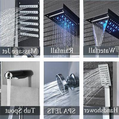 ELLO&ALLO Shower LED Rainfall System Body Jet