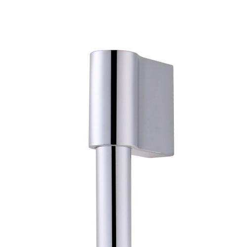 KES Hand Shower Head Adjustable Chrome, F200-CH+KP501B-CH