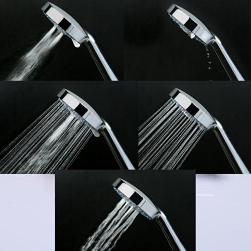 KES Five Hand Adjustable Slide Chrome, F200-CH+KP501B-CH