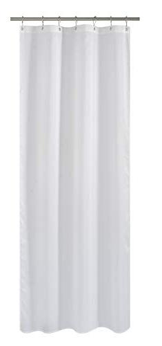 N&Y HOME Fabric Shower Curtain Liner White - 36 x 72 inch Ba