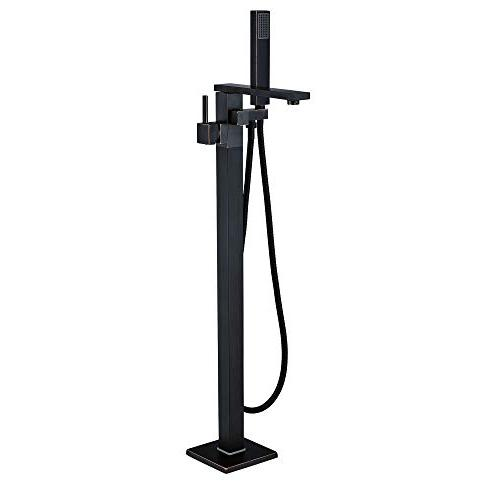 floor mounted standing bathtub faucet