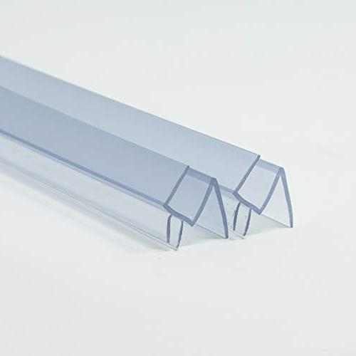 Frameless Shower Door Seal USA 3/8 36 in