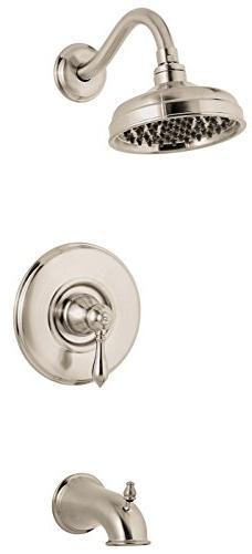 Pfister  G89-8MBD  Marielle Saxton 1-Handle Tub & Shower Tri