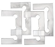 C.R. LAURENCE GEN4GKCLR CRL Clear Gasket Replacement Kit for
