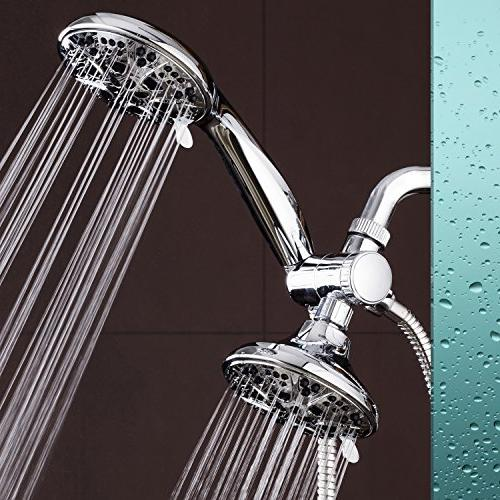 AquaDance Giant 30 Mode All Chrome High Power Shower Handheld Independently to Strict Quality Performance