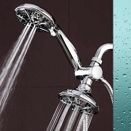 AquaDance 30 Mode All High Power Shower Handheld Separately or Together! Independently Strict US Performance Standards!