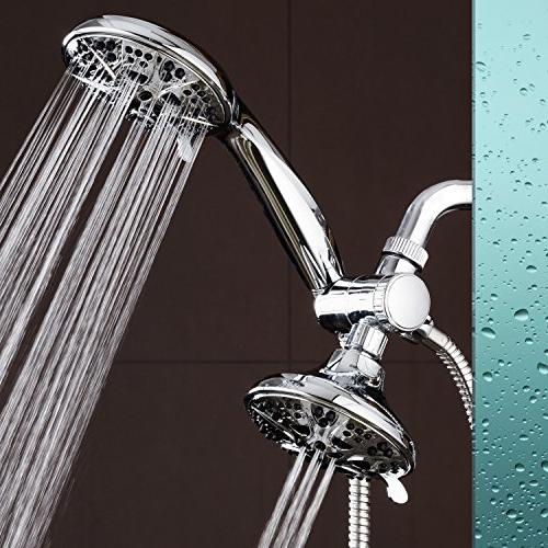 AquaDance Giant 30 Mode High Combo. Shower Head & Separately Independently Meet Strict US Performance Standards!