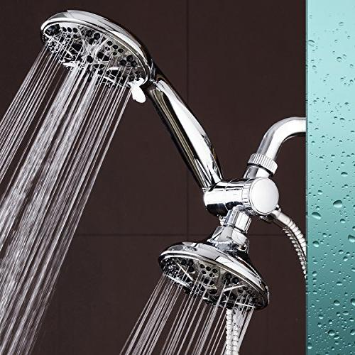 AquaDance Mode High Power Combo. Shower Head Separately or Independently to Strict US Quality Performance Standards!