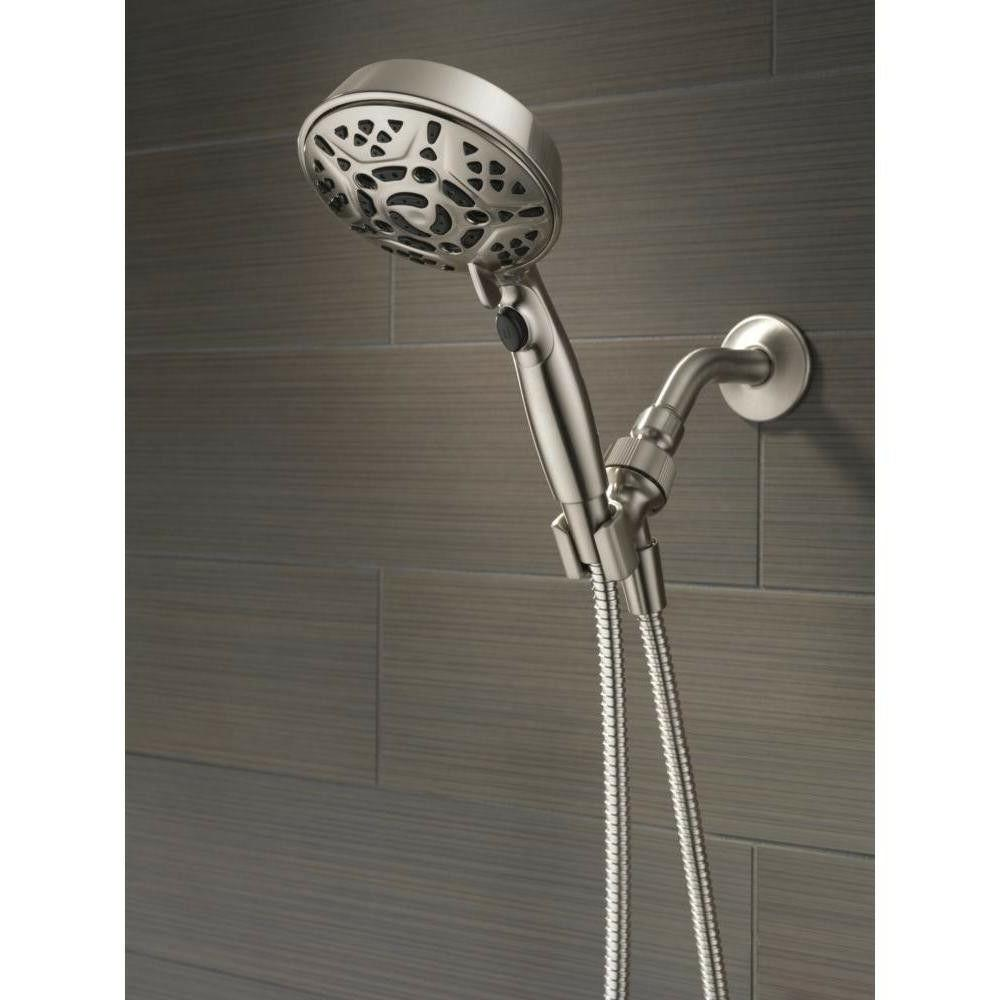 Hand Shower Spray Brushed Fixture Mount in